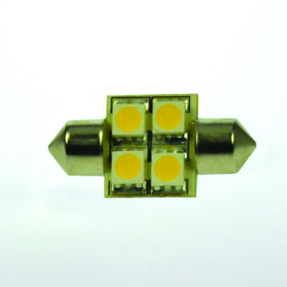S-LED 4 Festoon 10-30V 31mm