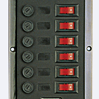 6er Schalttafel 114x165mm