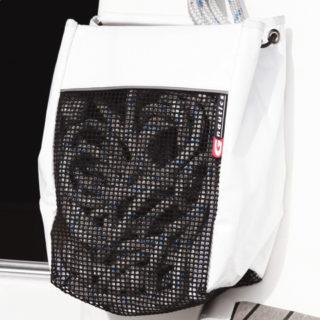 Leinen-Tasche breit S (20x30x18cm)