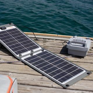 Solar-Ladegerät 50 W für Torqeedo Travel / Ultralight